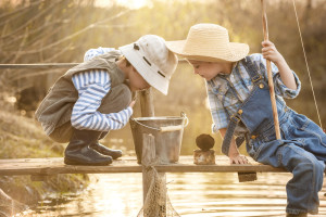 Fishing, mosquito free